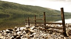 Conistonwater fence