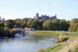 Arundel Castle view.
