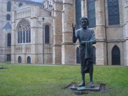 The Son of Man statue
