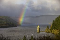 Rainbow over Lake Vyrnwy