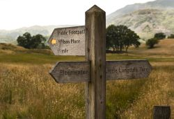 Little Langdale sign