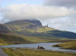 The Storr and Loch Fada