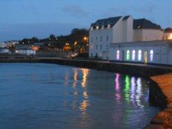 Swanage Quay at night
