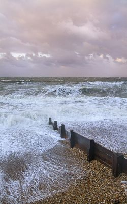 STORM APPROACHING AT MILFORD ON SEA