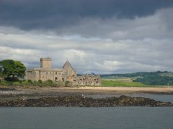 The Abbey from the Firth of Forth