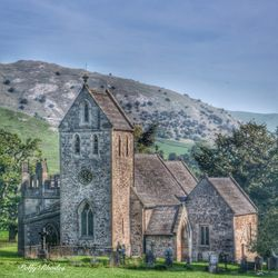 The Church of the Holy Cross, Ilam, Derbyshire