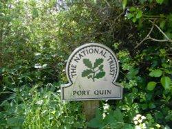 Port Quin sign