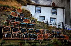 'Stacked and Ready' - Staithes, North Yorkshire