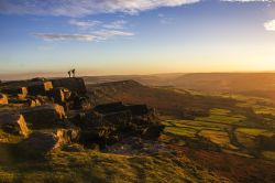 Sunset on Curbar Edge 1 Wallpaper