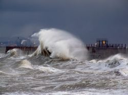 Storm at Hartlepool