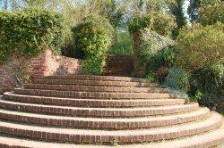 Cockington village in Devon  Mysterious steps