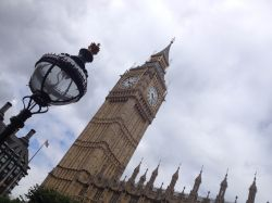 Big Ben & Lamp Post