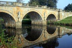 Bridge over Derwent Wallpaper