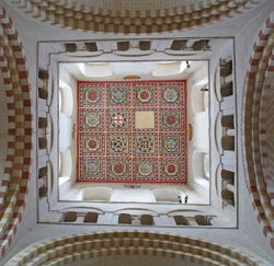 St Albans Abbey Rose Ceiling