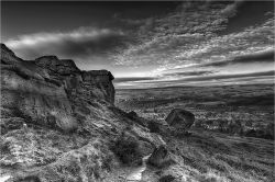 The Cow and Calf Rocks, Ilkley