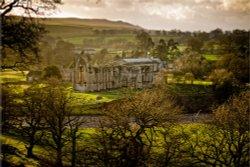 Bolton Abbey near Skipton, Yorkshire