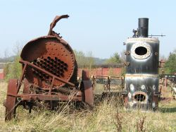 Industrial Decay, Beamish Open Air Museum