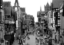 A busy day in Chester