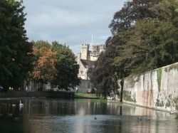 Moat of Bishop's Palace, Wells
