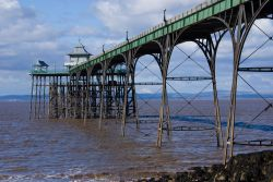 The pier at Clevedon, Somerset