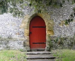 Door at Arundel Castle