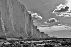 Seven Sisters. Near Seaford, Sussex
