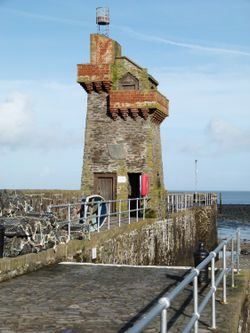 The Rhenish Tower at Lynmouth