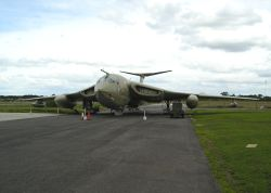 R A F Elvington, Yorkshire.  Victor Bomber