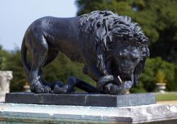 Lion and Serpent Statue, Kingston Lacy Gardens