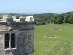 Lulworth Castle Tower - June 2003