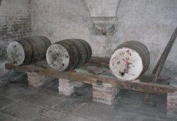 Lulworth Castle - Old Wine Barrels - June 2003