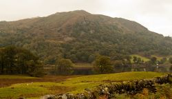 Nab Scar and Rydal Water