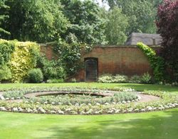 Oxford - Christ Church Garden - June 2003