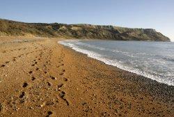 The Beach on the Dorset Coast near Ringstead