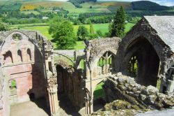 Melrose Abbey, Scottish Borders, Scotland
