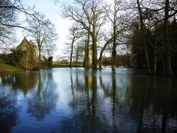 Minster Lovell Hall - Floods