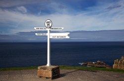 Lands End Sign Post
