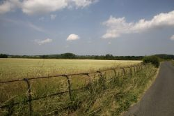 B Road to Fotheringhay, Northamptonshire