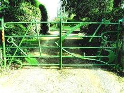 Unique Farm Implement Gate Boughton, Northampton