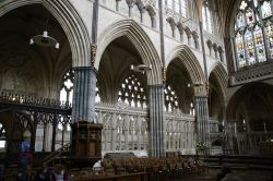 Inside Cathedral Exeter