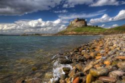 Lindisfarne Castle and Beach