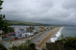 Torcross and beach view