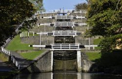 Bingley 5 Rise Lock, West Yorkshire