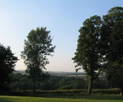 View from Westcote Inn - Nether Westcote