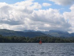 Red Sails on Lake Windermere (6) - August 2007