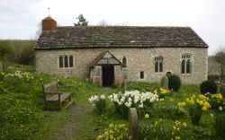 Coombes Church, South Downs