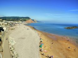 Sidmouth Beach and Seafront