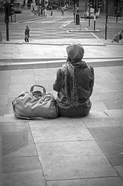 Waiting. Lime Street, Liverpool.