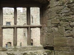 Interior of Ludlow Castle