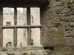 Interior of Ludlow Castle